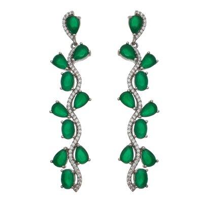 Brinco Party Emerald