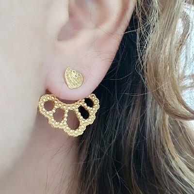 Brinco Ear Jacket Heart