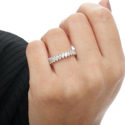 Aliança Diamantes em Navetes