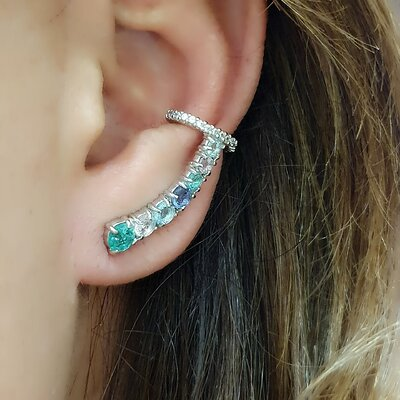 Brinco Ear Cuff Colors Style
