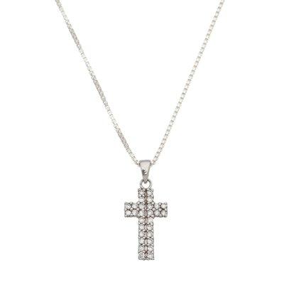 Colar em Prata 925 com Crucifixo