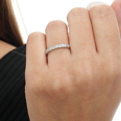 Aliança Ouro Branco Diamantes