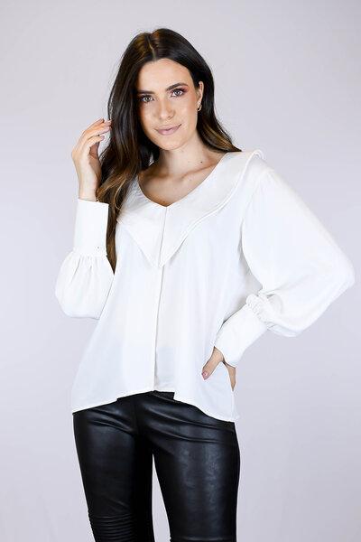 Camisa Crema Claudine