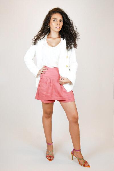 Short Saia Linah