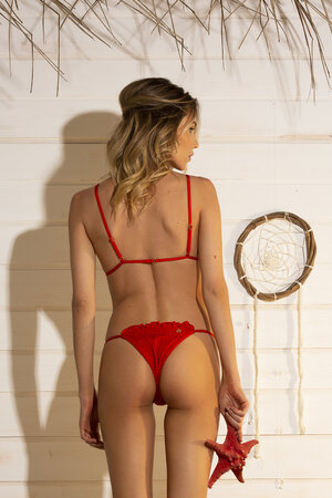TANGA BEE SHINE RED