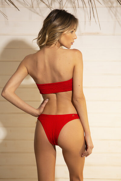 TANGA FIXA BEE SHINE RED