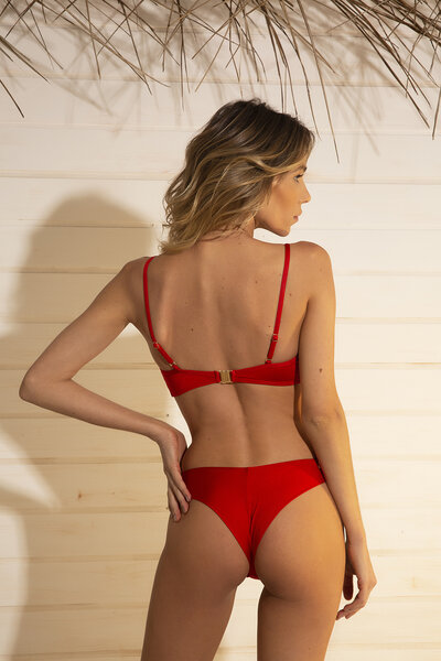 TANGA KATE SHINE RED