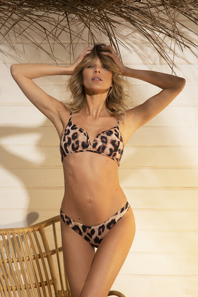 TOP BLAIR LEOPARD