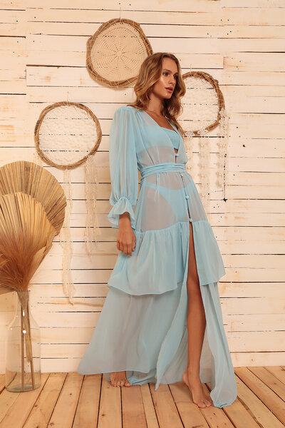 SAÍDA LONGA BABY BLUE