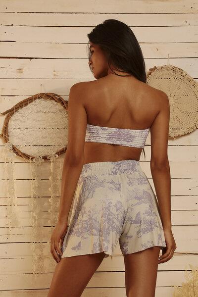 Shorts Toile Du Jouy