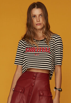 TEE CROPPED 3/4