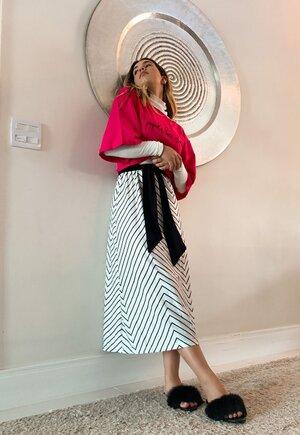 Vestido triprint