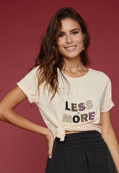 Tee less more
