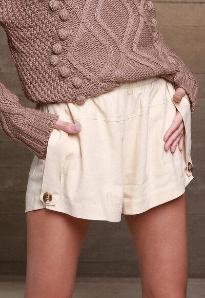 Shorts linho martingale