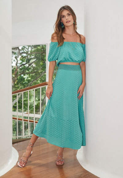 Laise blue green
