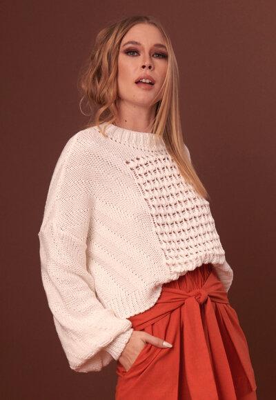 Blusa tricot rafaela