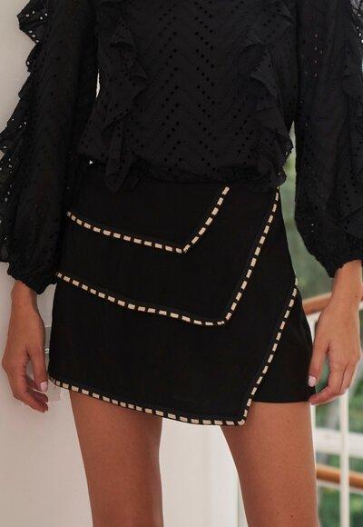 Shorts saia tencel
