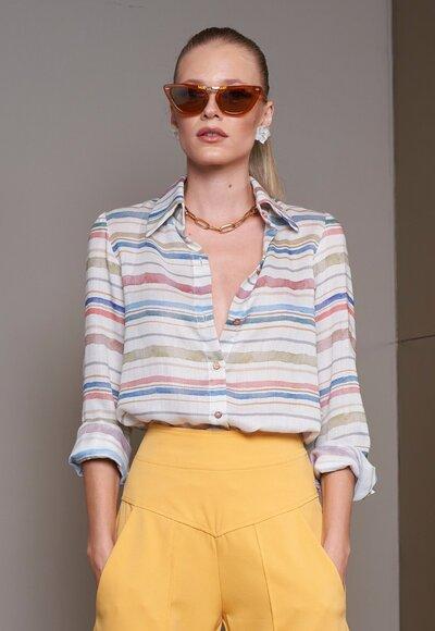 Camisa aquarela