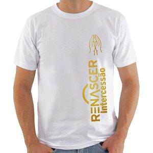 Camiseta Renascer Intercessão Branca
