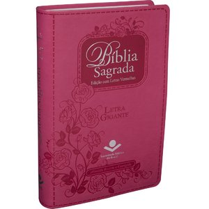 Bíblia Sagrada - Pink Letra Gigante SBB