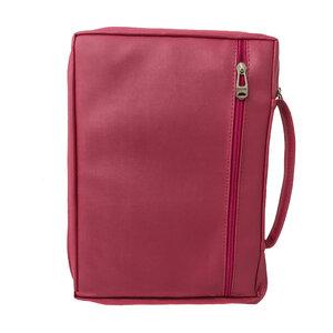 Capa para a Bíblia MQV Flores com fundo rosa
