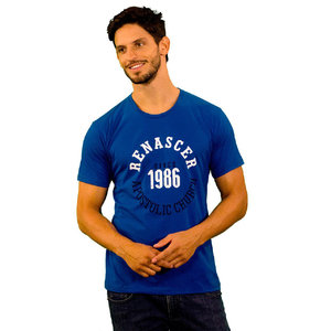 Camiseta Since 1986 Azul Royal