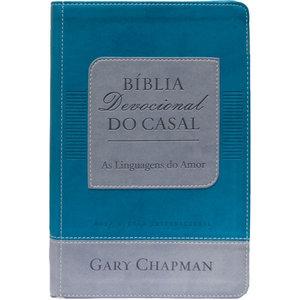Bíblia Devocional do Casal As Linguagens do Amor - Verde - Gary Chapman