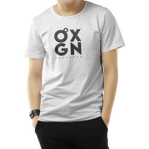 Camiseta O2XGN - Branca Vertical