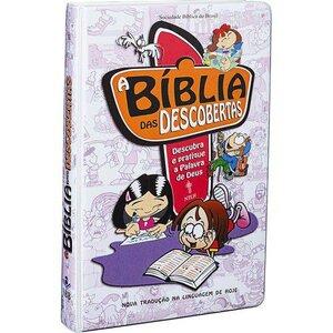 Bíblia De Estudo Das Descobertas Crianças (Rosa)