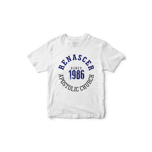 Camiseta Since 1986 Branca