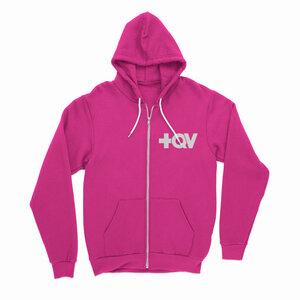 Moletom +QV pink