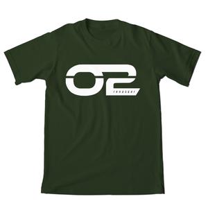Camiseta O2 Verde Cromo