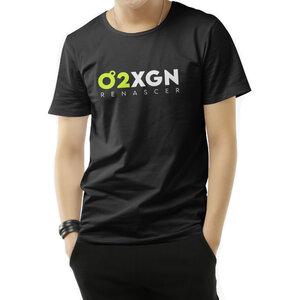 Camiseta O2XGN - Preta Horizontal