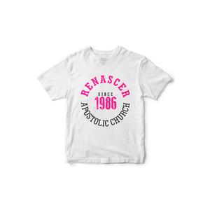 Baby Look Since 1986 Branca