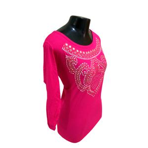Blusa +QV Diamante Pink