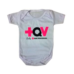 Body infantil +QV Branco
