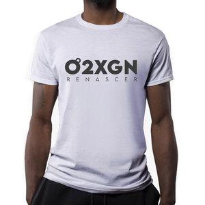 Camiseta O2XGN - Branca Horizontal