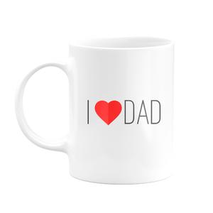 Caneca I Love Dad