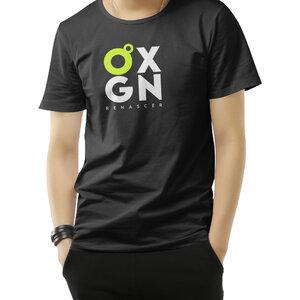 Camiseta O2XGN - Preta Vertical