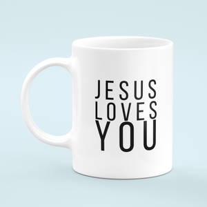 Caneca Jesus Loves You