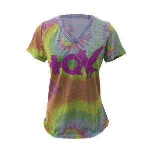 Blusa Tie Dye logo MQV Horizontal