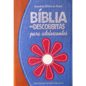 Bíblia das Descobertas para Adolescentes - Flor