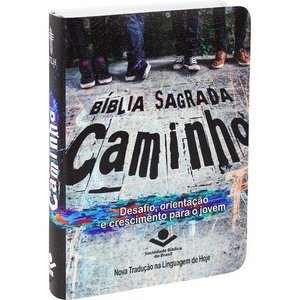 Bíblia Sagrada Caminho para Jovens e Adolescentes - Semi Flexivel Ilustrada