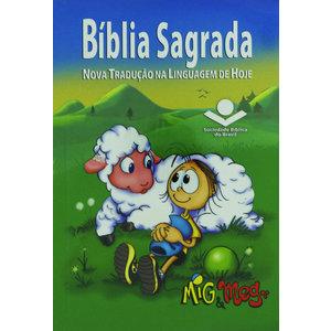Bíblia Sagrada Ovelha Mig & Meg