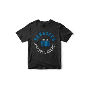 Camiseta Since 1986 Preta