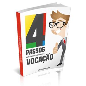 Livro 4 Passos para descobrir a sua vocação