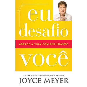 Livro Eu desafio você - Joyce Meyer