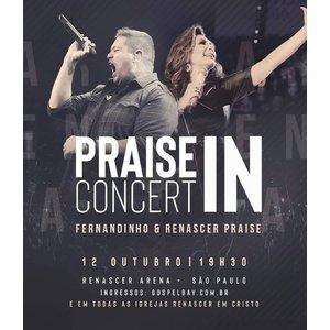 Ingresso - Praise In Concert (Arquibancada)