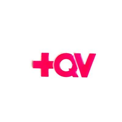 Adesivo + QV - Recortado Rosa