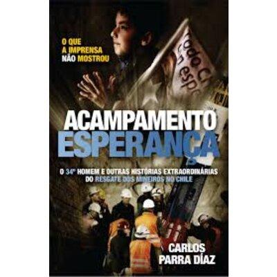 Livro Acampamento Esperança - Carços Parra Diaz